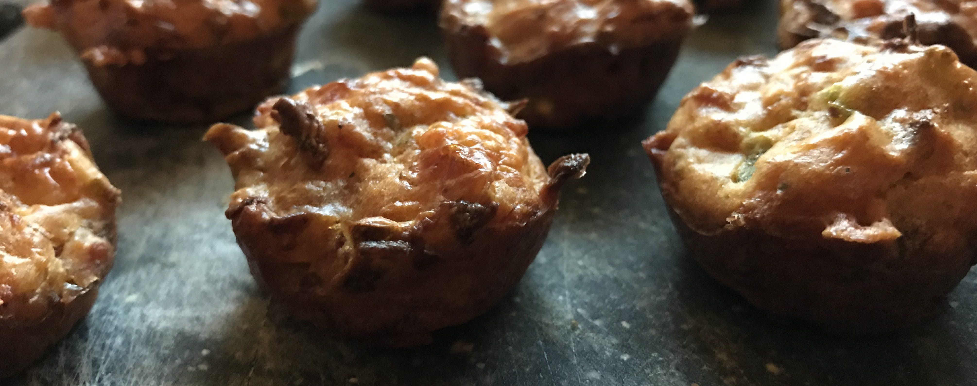 Mini-Muffins-Mundgerecht